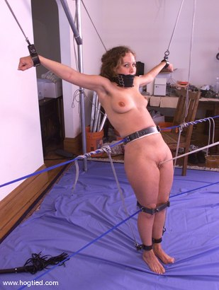 Photo number 10 from Amber shot for Hogtied on Kink.com. Featuring Amber in hardcore BDSM & Fetish porn.