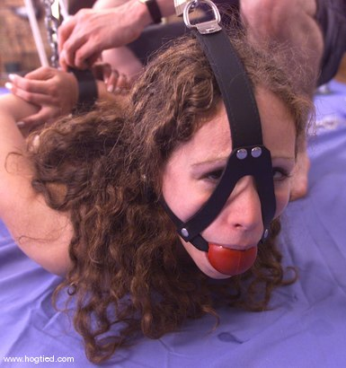 Photo number 8 from Amber shot for Hogtied on Kink.com. Featuring Amber in hardcore BDSM & Fetish porn.