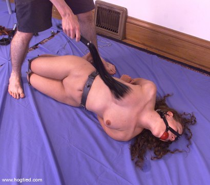 Photo number 3 from Amber shot for Hogtied on Kink.com. Featuring Amber in hardcore BDSM & Fetish porn.