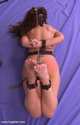 Photo number 4 from Amber shot for Hogtied on Kink.com. Featuring Amber in hardcore BDSM & Fetish porn.