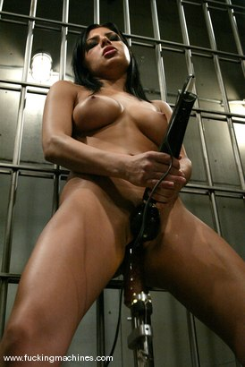 Photo number 10 from Sativa Rose shot for Fucking Machines on Kink.com. Featuring Sativa Rose in hardcore BDSM & Fetish porn.
