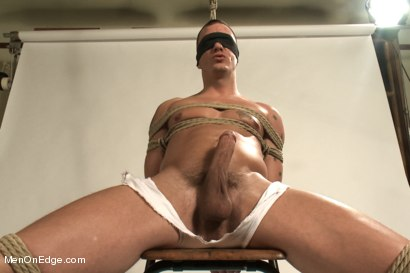 Photo number 1 from Hot physique model is curious about edging and bondage shot for Men On Edge on Kink.com. Featuring Adam Knox in hardcore BDSM & Fetish porn.