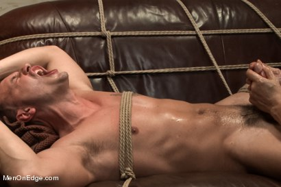 Photo number 13 from Hot physique model is curious about edging and bondage shot for Men On Edge on Kink.com. Featuring Adam Knox in hardcore BDSM & Fetish porn.