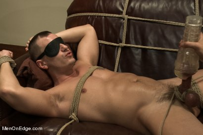 Photo number 10 from Hot physique model is curious about edging and bondage shot for Men On Edge on Kink.com. Featuring Adam Knox in hardcore BDSM & Fetish porn.