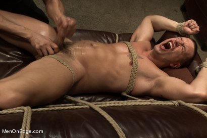 Photo number 14 from Hot physique model is curious about edging and bondage shot for Men On Edge on Kink.com. Featuring Adam Knox in hardcore BDSM & Fetish porn.