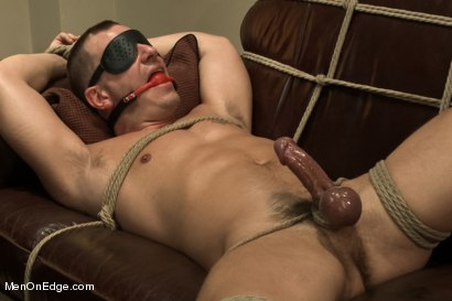 Photo number 11 from Hot physique model is curious about edging and bondage shot for Men On Edge on Kink.com. Featuring Adam Knox in hardcore BDSM & Fetish porn.