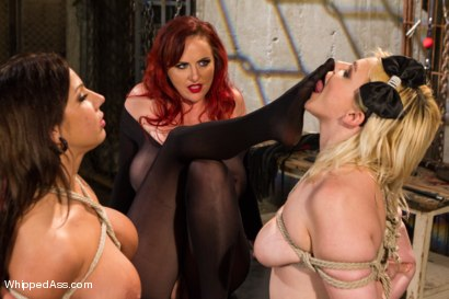 Photo number 15 from Woman Handled Sluts shot for Whipped Ass on Kink.com. Featuring Mz Berlin, Alice Frost and Lylith Lavey in hardcore BDSM & Fetish porn.