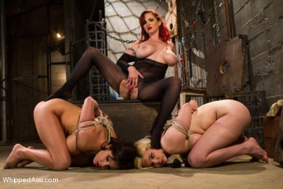 Photo number 4 from Woman Handled Sluts shot for Whipped Ass on Kink.com. Featuring Mz Berlin, Alice Frost and Lylith Lavey in hardcore BDSM & Fetish porn.