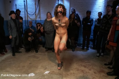 Photo number 2 from Amateur with Big Ass gets Disgraced shot for Public Disgrace on Kink.com. Featuring Bianca Stone and Lorelei Lee in hardcore BDSM & Fetish porn.