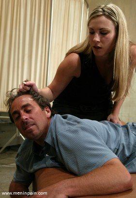 Photo number 2 from Harmony and Rok shot for Men In Pain on Kink.com. Featuring Harmony and Rok in hardcore BDSM & Fetish porn.