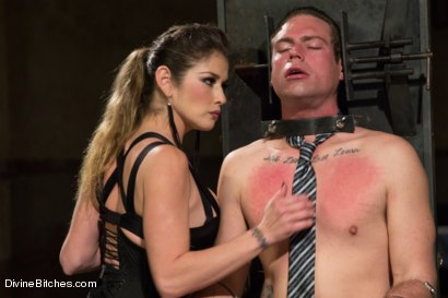 Photo number 13 from 4 Rules Of A Dominatrix Dungeon With The Fleshlight Pussy Machine shot for Divine Bitches on Kink.com. Featuring Felony and John Jammen in hardcore BDSM & Fetish porn.