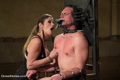 Photo number 15 from 4 Rules Of A Dominatrix Dungeon With The Fleshlight Pussy Machine shot for Divine Bitches on Kink.com. Featuring Felony and John Jammen in hardcore BDSM & Fetish porn.