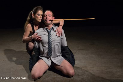 Photo number 3 from 4 Rules Of A Dominatrix Dungeon With The Fleshlight Pussy Machine shot for Divine Bitches on Kink.com. Featuring Felony and John Jammen in hardcore BDSM & Fetish porn.