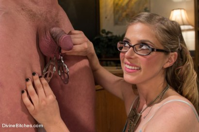 Photo number 13 from Bratty Princess Penny cuckolds her teacher in front of the class! shot for Divine Bitches on Kink.com. Featuring Penny Pax, Christian Wilde and Chad Rock in hardcore BDSM & Fetish porn.