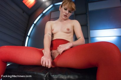 Photo number 2 from Firey Ginger Loves the FuckingMachines in Her Pussy and Ass shot for Fucking Machines on Kink.com. Featuring Claire Robbins in hardcore BDSM & Fetish porn.