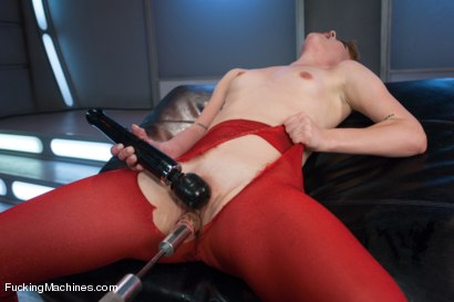 Photo number 4 from Firey Ginger Loves the FuckingMachines in Her Pussy and Ass shot for Fucking Machines on Kink.com. Featuring Claire Robbins in hardcore BDSM & Fetish porn.