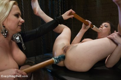 Photo number 5 from Butt Sluts: Casey Calvert and Katja Kassin shot for Everything Butt on Kink.com. Featuring Katja Kassin and Casey Calvert in hardcore BDSM & Fetish porn.