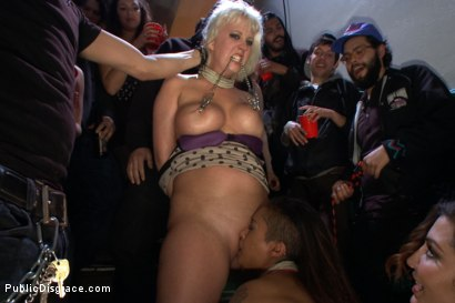 Photo number 8 from Cocksuckers take the CoUNT! shot for Public Disgrace on Kink.com. Featuring Xander Corvus, Skin Diamond, Cherry Torn and Matt Williams in hardcore BDSM & Fetish porn.