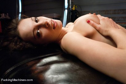Photo number 1 from  Via The Puss! Hot Frenchie Machine Fucked till She SQUIRTS shot for Fucking Machines on Kink.com. Featuring Nikita Bellucci in hardcore BDSM & Fetish porn.
