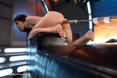 Photo number 9 from  Via The Puss! Hot Frenchie Machine Fucked till She SQUIRTS shot for Fucking Machines on Kink.com. Featuring Nikita Bellucci in hardcore BDSM & Fetish porn.
