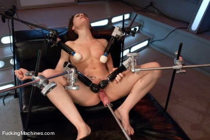 Photo number 11 from  Via The Puss! Hot Frenchie Machine Fucked till She SQUIRTS shot for Fucking Machines on Kink.com. Featuring Nikita Bellucci in hardcore BDSM & Fetish porn.