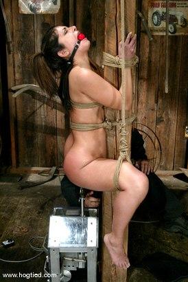 Photo number 9 from Gia Jordan shot for Hogtied on Kink.com. Featuring Gia Jordan in hardcore BDSM & Fetish porn.