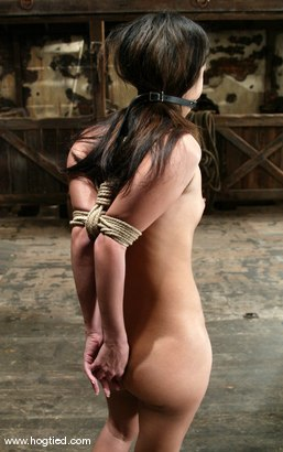 Photo number 2 from Gia Jordan shot for Hogtied on Kink.com. Featuring Gia Jordan in hardcore BDSM & Fetish porn.