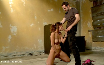 Photo number 3 from Looking for Trouble shot for  on Kink.com. Featuring Maestro and Audrey Rose in hardcore BDSM & Fetish porn.