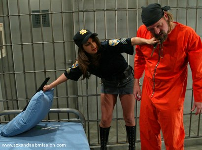 Photo number 3 from Gia Jordan and Brian Surewood shot for Sex And Submission on Kink.com. Featuring Gia Jordan and Brian Surewood in hardcore BDSM & Fetish porn.