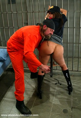 Photo number 5 from Gia Jordan and Brian Surewood shot for Sex And Submission on Kink.com. Featuring Gia Jordan and Brian Surewood in hardcore BDSM & Fetish porn.