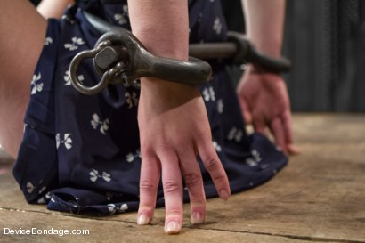 Photo number 2 from Juliette March - Insatiable Bondage Whore shot for Device Bondage on Kink.com. Featuring Juliette March in hardcore BDSM & Fetish porn.