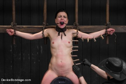 Photo number 14 from Juliette March - Insatiable Bondage Whore shot for Device Bondage on Kink.com. Featuring Juliette March in hardcore BDSM & Fetish porn.