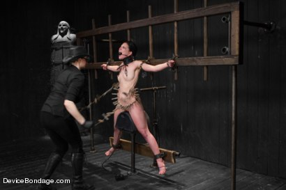 Photo number 13 from Juliette March - Insatiable Bondage Whore shot for Device Bondage on Kink.com. Featuring Juliette March in hardcore BDSM & Fetish porn.