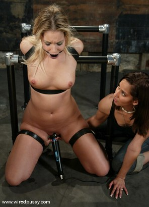 Photo number 10 from Hollie Stevens and Isis Love shot for Wired Pussy on Kink.com. Featuring Hollie Stevens and Isis Love in hardcore BDSM & Fetish porn.