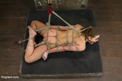 Photo number 9 from 20 year old Ashlynn & ginger Odile get shown the ropes & defiled! shot for Hogtied on Kink.com. Featuring Ashlynn Leigh and Odile in hardcore BDSM & Fetish porn.
