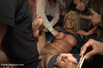 Hot Blonde Girl gets Disgraced at a house Party