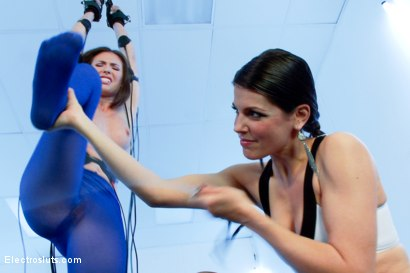 Photo number 12 from Bobbi Starr Tests Casey Calvert shot for Electro Sluts on Kink.com. Featuring Casey Calvert  and Bobbi Starr in hardcore BDSM & Fetish porn.