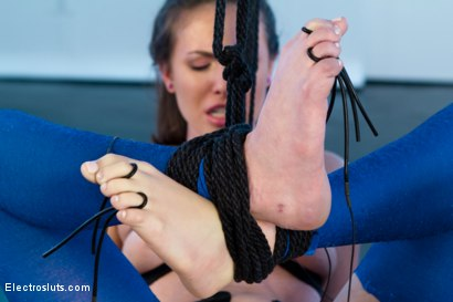 Photo number 7 from Casey Calvert Electrocuted and Ass-Fisted by Bobbi Starr!!!! shot for Electro Sluts on Kink.com. Featuring Casey Calvert  and Bobbi Starr in hardcore BDSM & Fetish porn.