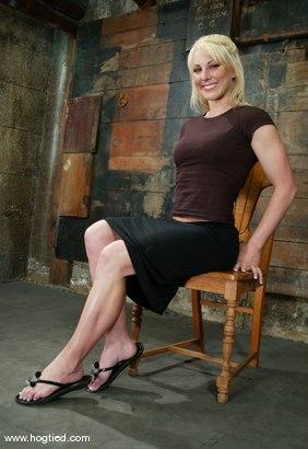 Photo number 1 from Bobbi Dean shot for Hogtied on Kink.com. Featuring Bobbi Dean in hardcore BDSM & Fetish porn.