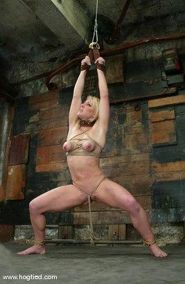 Photo number 11 from Bobbi Dean shot for Hogtied on Kink.com. Featuring Bobbi Dean in hardcore BDSM & Fetish porn.