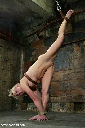 Photo number 13 from Bobbi Dean shot for Hogtied on Kink.com. Featuring Bobbi Dean in hardcore BDSM & Fetish porn.