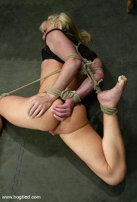 Photo number 3 from Bobbi Dean shot for Hogtied on Kink.com. Featuring Bobbi Dean in hardcore BDSM & Fetish porn.