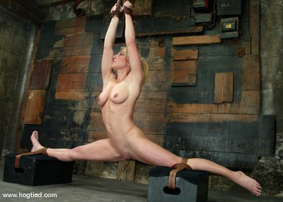Photo number 5 from Bobbi Dean shot for Hogtied on Kink.com. Featuring Bobbi Dean in hardcore BDSM & Fetish porn.