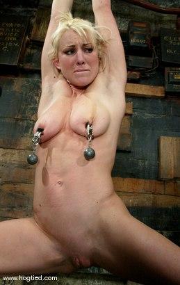 Photo number 4 from Bobbi Dean shot for Hogtied on Kink.com. Featuring Bobbi Dean in hardcore BDSM & Fetish porn.