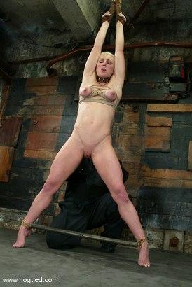 Photo number 10 from Bobbi Dean shot for Hogtied on Kink.com. Featuring Bobbi Dean in hardcore BDSM & Fetish porn.