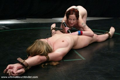 Photo number 15 from The Pirate (3-1) vs. The Trooper (1-0) shot for Ultimate Surrender on Kink.com. Featuring Jade Marxxx and Nina in hardcore BDSM & Fetish porn.
