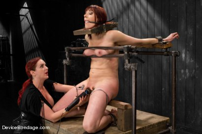 Photo number 13 from Mz Berlin vs Odile shot for Device Bondage on Kink.com. Featuring Mz Berlin and Odile in hardcore BDSM & Fetish porn.