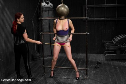 Photo number 11 from Mz Berlin vs Odile shot for Device Bondage on Kink.com. Featuring Mz Berlin and Odile in hardcore BDSM & Fetish porn.