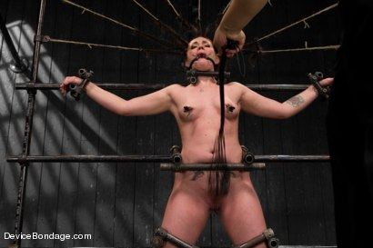 Photo number 4 from Relentless - Andy San Dimas  shot for Device Bondage on Kink.com. Featuring Andy San Dimas, Orlando, Mz Berlin and Lola Marx in hardcore BDSM & Fetish porn.
