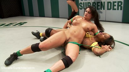 Photo number 5 from Super Voluptuous Welter Weights battle it out in the Quarter finals. shot for Ultimate Surrender on Kink.com. Featuring Yasmine Loven and Penny Barber in hardcore BDSM & Fetish porn.